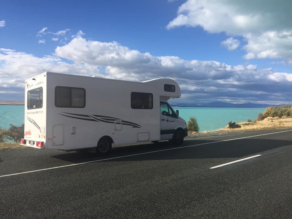 Caravan in New Zealand