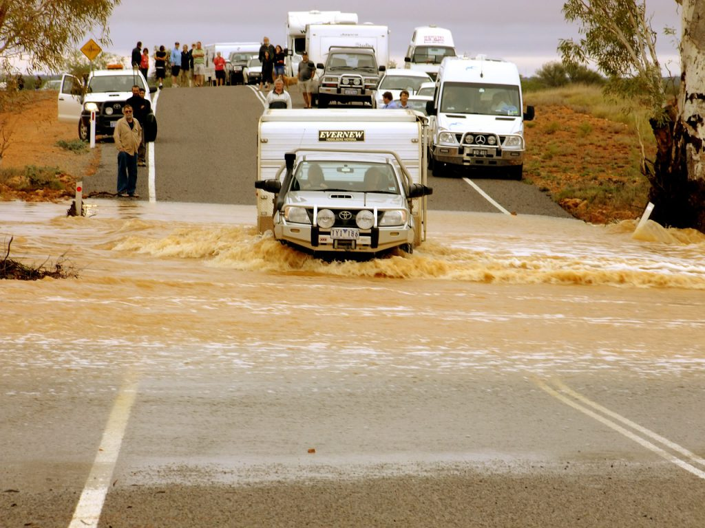 4WD Car in Australia