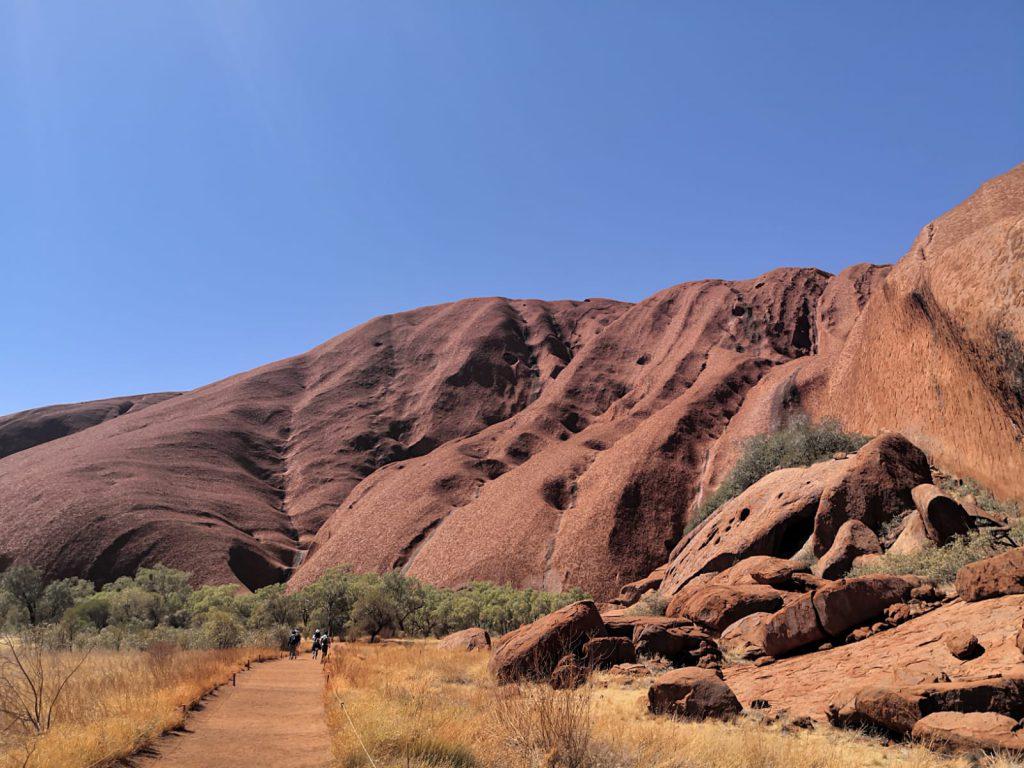 הסלע האדום