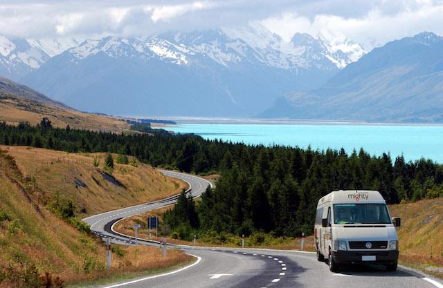 השכרת קמפר-ואן בניו זילנד