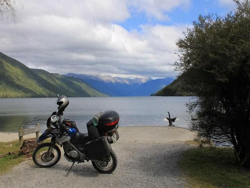 ניו זילנד על אופנוע
